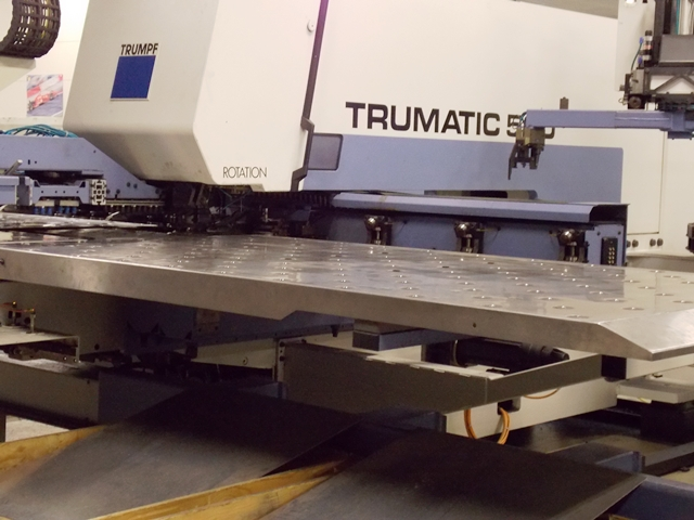 CNC Punching machine Trumpf TRUMATIC 500 R second hand, new in 1995. SOLD!