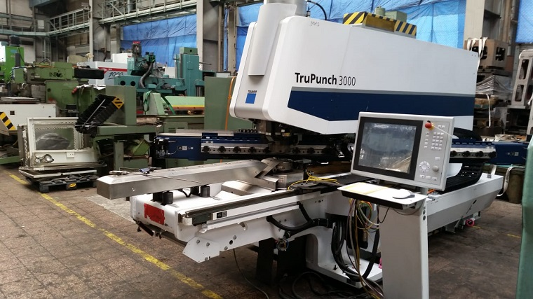 Punching machine Trumpf TRUPUNCH 3000, second hand, new in 2013.